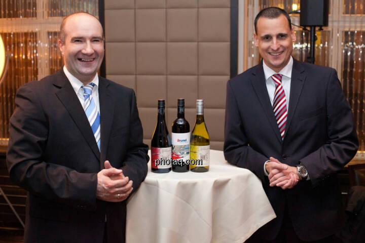 Harald Kuchelbacher (Geschäftsbereichsleiter Österreich, Brunel), Andreas Kuchelbacher (Niederlassungsleiter, Wien, NÖ)