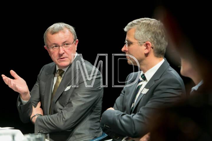 Peter Traupmann, Geschäftsführer Österreichische Energieagentur, René Stadler, Category Head Energy, Mondi AG