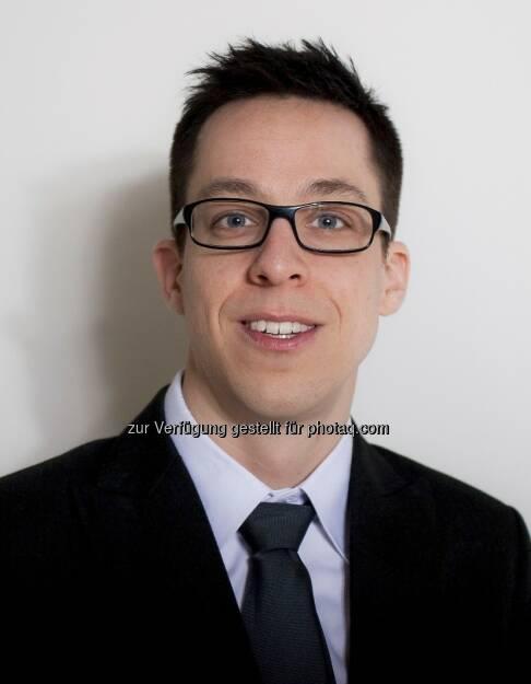 Wolfgang Mandl neu im Marketing-Team von C-Quadrat (c) C-Quadrat (15.12.2012)