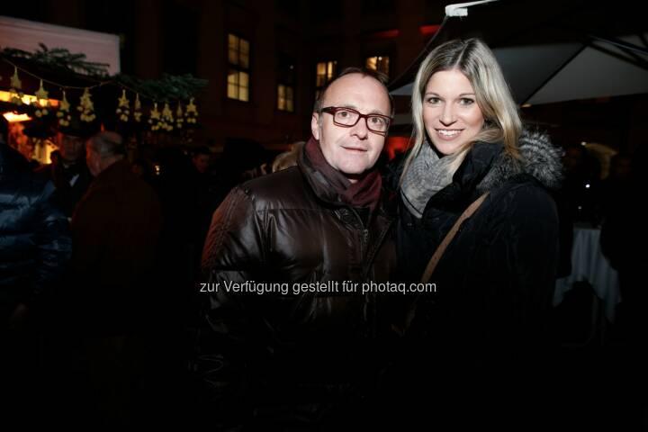 Medienunternehmer Reinhold Gmeinbauer , Kommunikatorin Alexandra Seyer