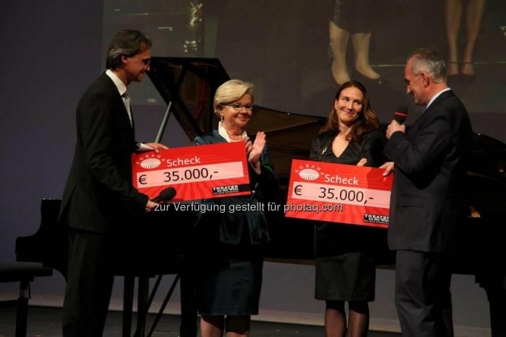 25 Jahre Agrana: Benefizkonzert mit Rudolf Buchbinder, in Kooperation mit dem Theater an der Wien (25.11.2013)