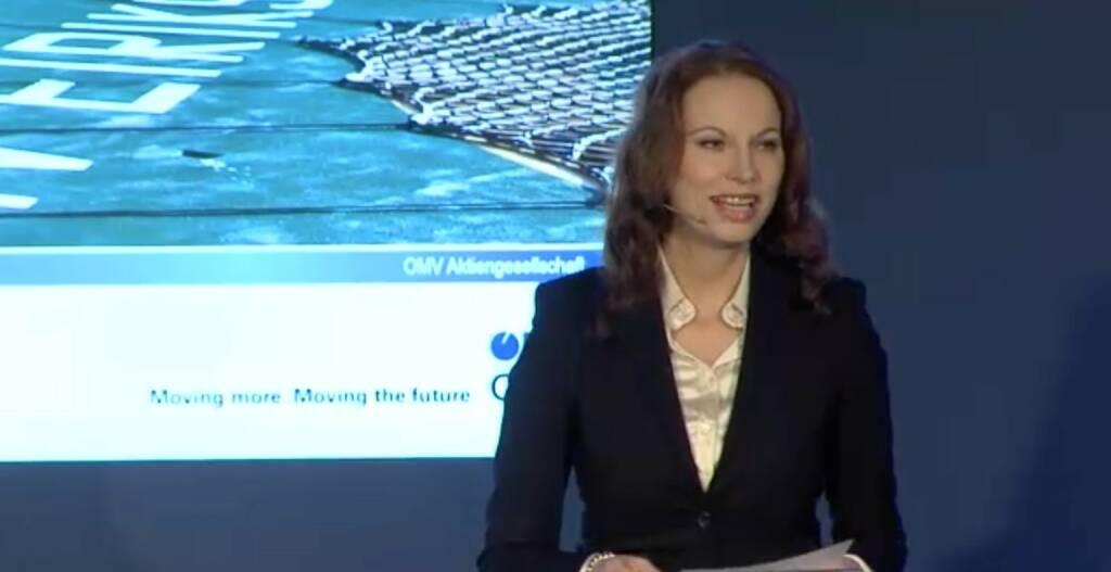 Michaela Huber, SVP Corporate Communications & Sustainability , © OMV Group (25.11.2013)
