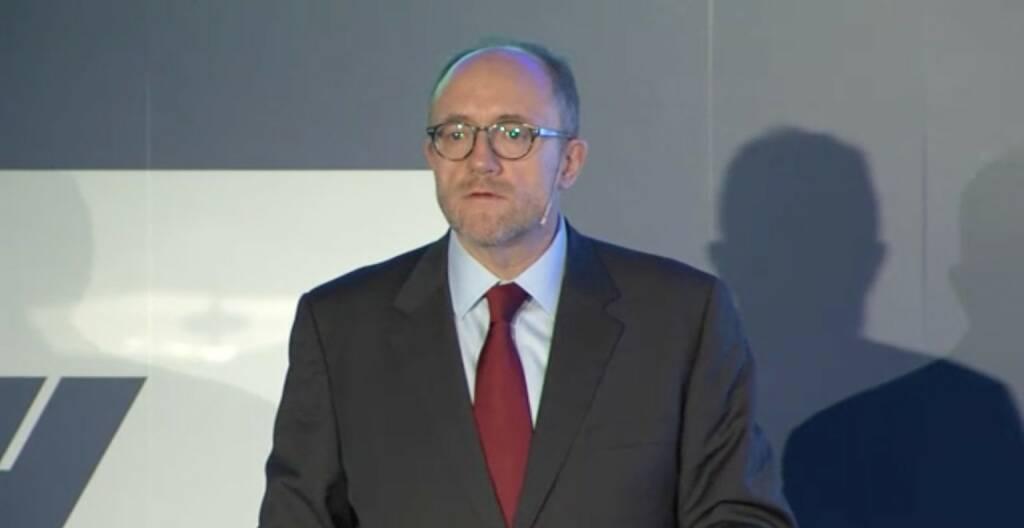 David C. Davies, Stellvertretender Vorstandsvorsitzender OMV, © OMV Group (25.11.2013)