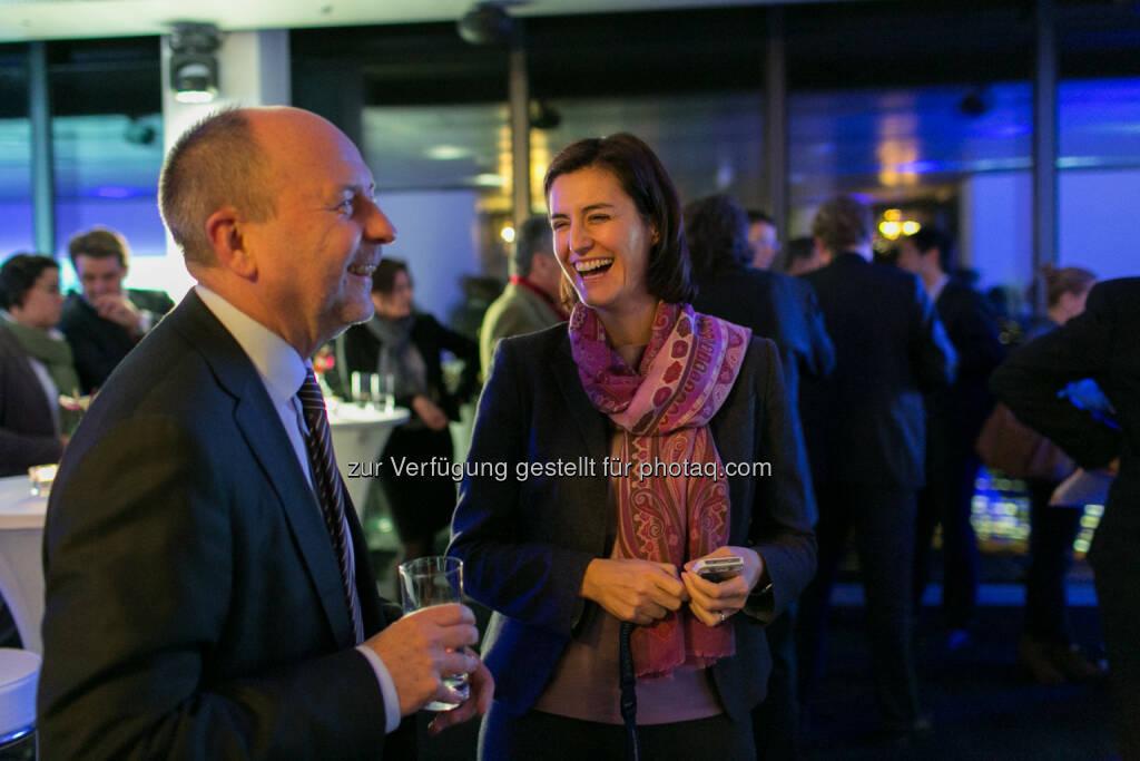 Birgit Noggler (Immofinanz) im Gespräch, © Martina Draper für Immofinanz (26.11.2013)