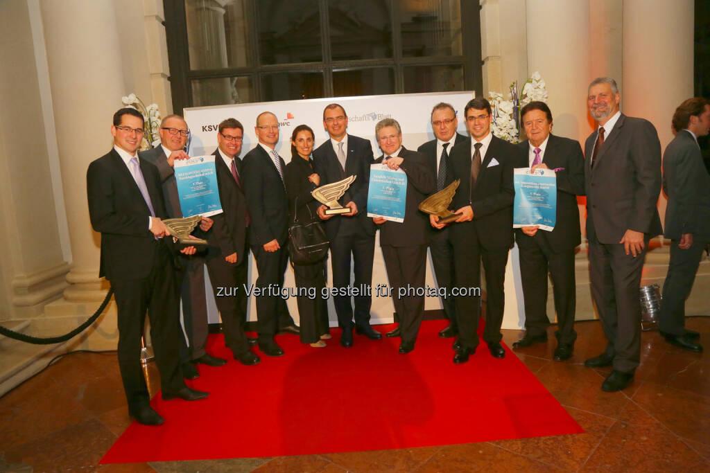 Die besten Unternehmen von Österreich!, © WirtschaftsBlatt / Peroutka (26.11.2013)