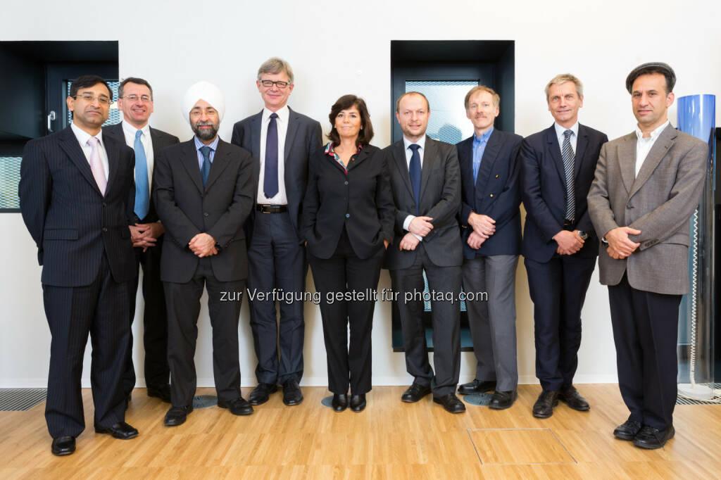 Advisory Board und Zentrumsleitung des Spängler IQAM Research Center: Goyal, Krahnen, Uppal, Dockner, Reichlin, Dangl, Stoughton, Zechner und Avramov (Spängler IQAM Invest) (27.11.2013)