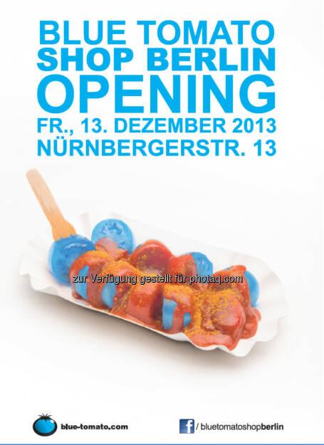 Blue Tomato, Plakat Berlin, © Blue Tomato (27.11.2013)