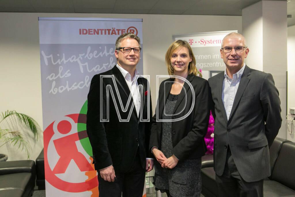 Ralf Tometschek (Identitäter), Elisabeth Triebert (TPA Horwarth), Michael Brandtner (Focusing Consultant), © Martina Draper (27.11.2013)
