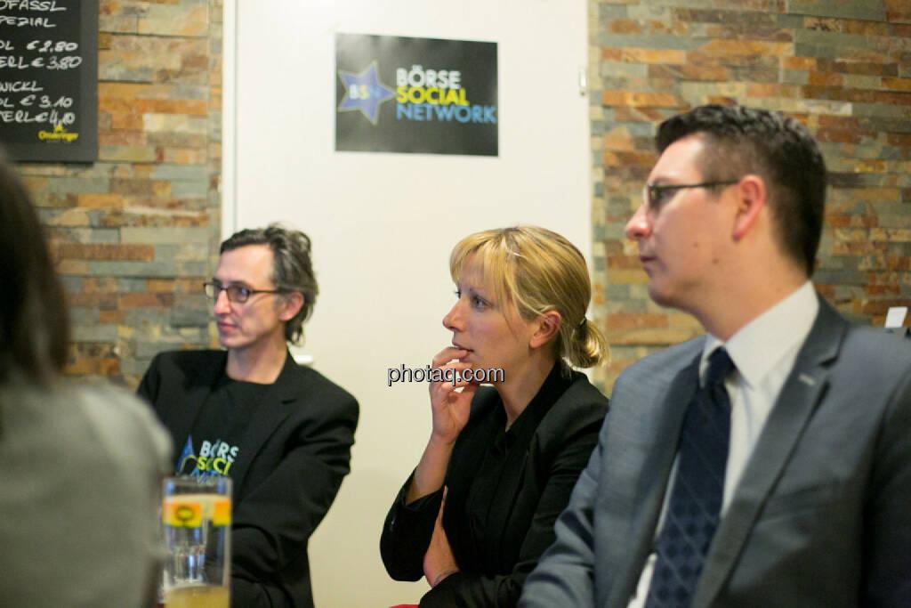 Josef Chladek, Elisabeth Wagerer (S Immo), Bosko Skoko (S Immo), © bsn/Martina Draper (28.11.2013)