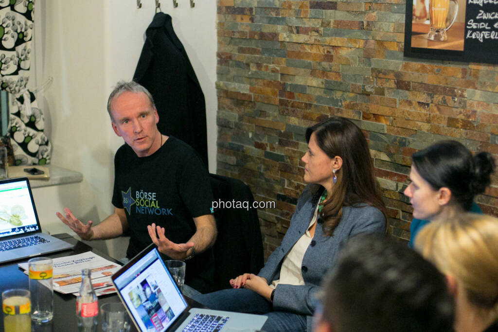 Christian Drastil, Milena Ioveva (Porr), Bettina Schragl (Immofinanz), © bsn/Martina Draper (28.11.2013)