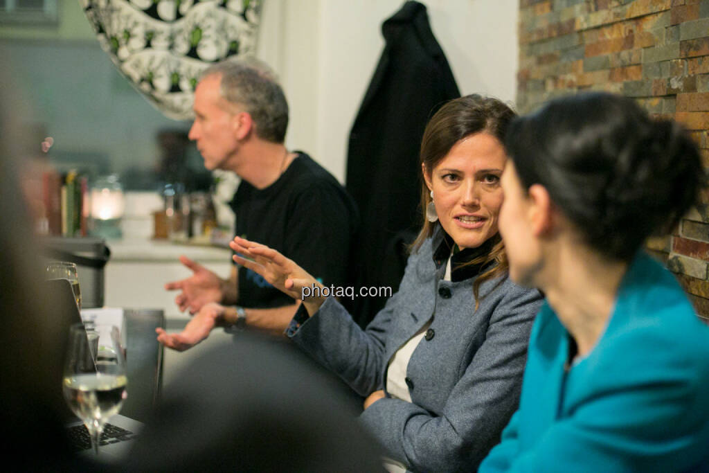 Milena Ioveva (Porr), Bettina Schragl (Immofinanz), © bsn/Martina Draper (28.11.2013)