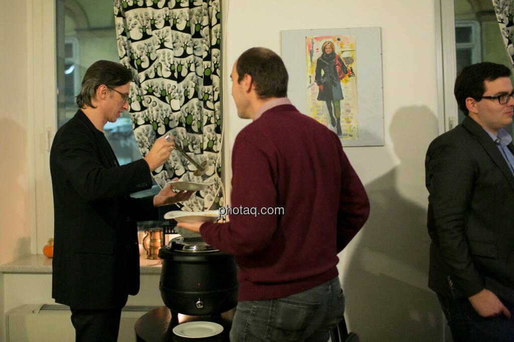 Josef Chladek, Bernhard Dörflinger (TeleTrader), Klaus Fahrnberger (bet-at-home.com) , © bsn/Martina Draper (28.11.2013)