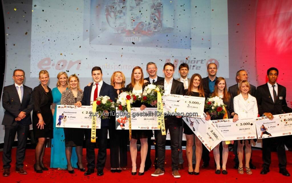 Siegerbild Jugendsportpreis (Bild: GEPA/Sporthilfe) (29.11.2013)