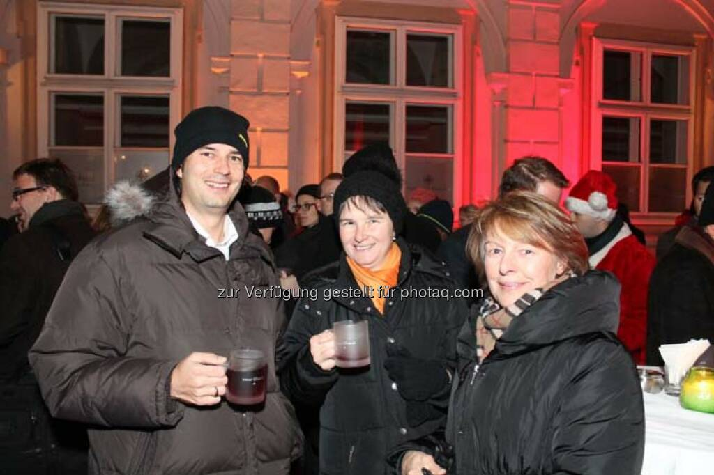 Günter Kornfellner, Helga Frohner (RCB), © Wiener Börse AG (29.11.2013)