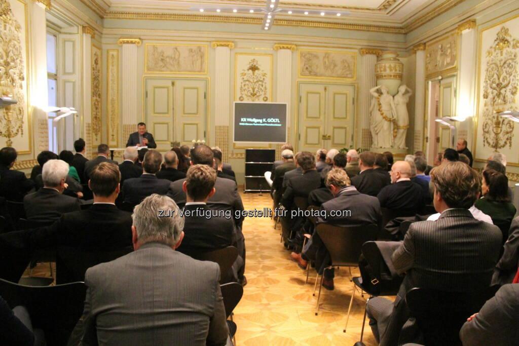 12. Investmenttrends-Kongress am 28.11.2013 im Palais Esterhazy , ©