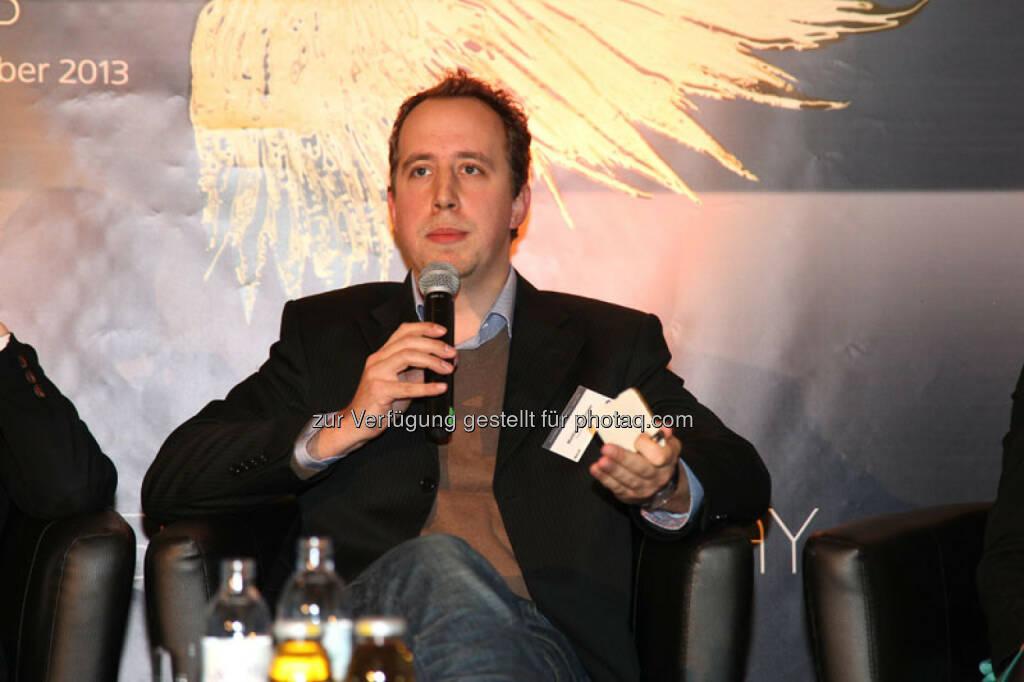 Matthias Reisinger (Mitgründer und Geschäftsführer Impact Hub Vienna, Österreich), © Austria Wirtschaftsservice (01.12.2013)
