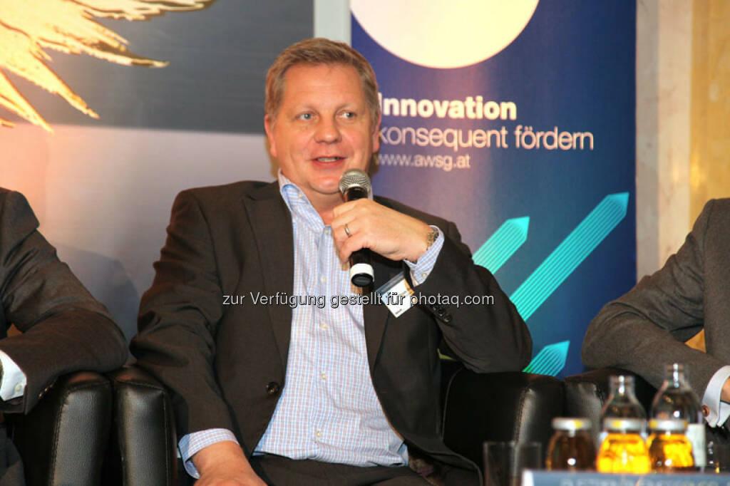 Thom Rasche (Partner, Earlybird Venture Capital GmbH & Co.KG), © Austria Wirtschaftsservice (01.12.2013)