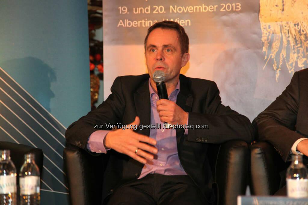 Walter Schmidt (Co-Founder und CEO Affiris AG), © Austria Wirtschaftsservice (01.12.2013)