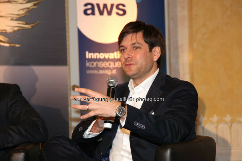 Russell E. Perry (Startup-CEO 123people, Co-Gründer kompany), © Austria Wirtschaftsservice (01.12.2013)