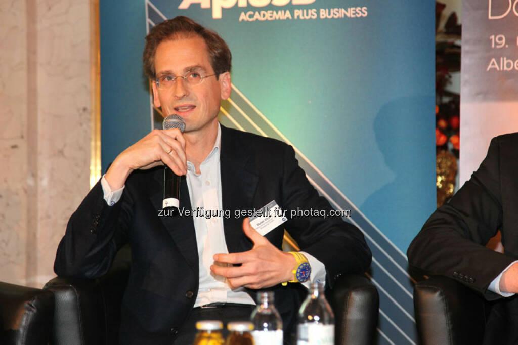 Stefan Klestil (Angel Investor, Payment/ Banking Expert), © Austria Wirtschaftsservice (01.12.2013)