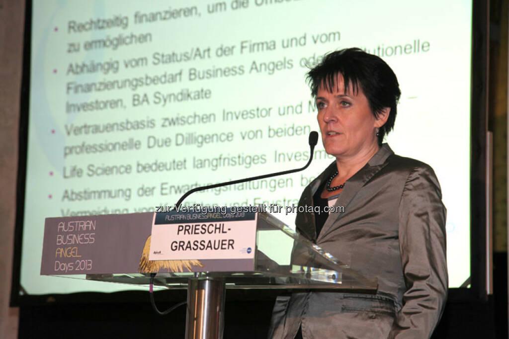 Keynote Prieschl-Grassauer, © Austria Wirtschaftsservice (01.12.2013)