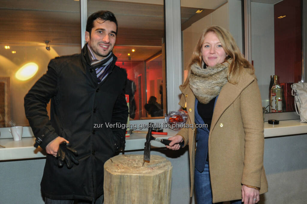 Slobodan Rakic, Valerie Knoll (Bild: DocLX Holding) (03.12.2013)