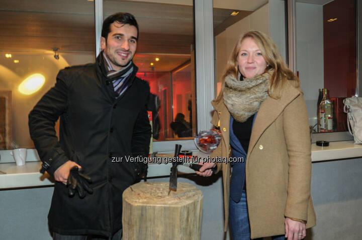 Slobodan Rakic, Valerie Knoll (Bild: DocLX Holding)