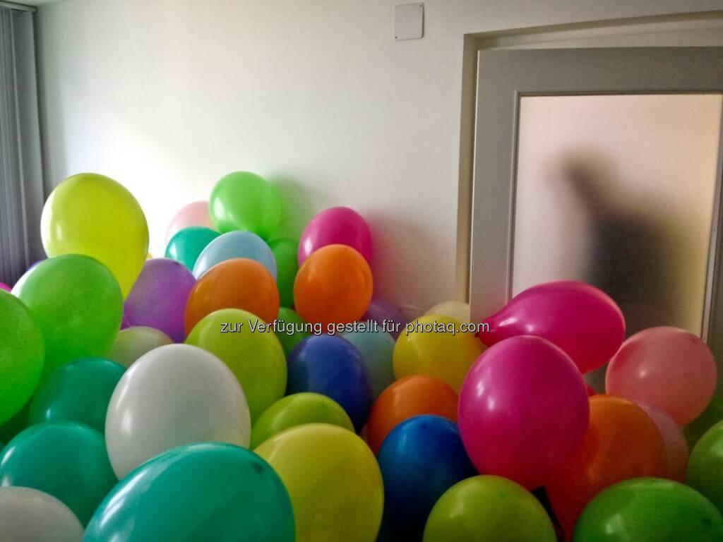 Tür, Luftballons, © wikifolio.com (03.12.2013)