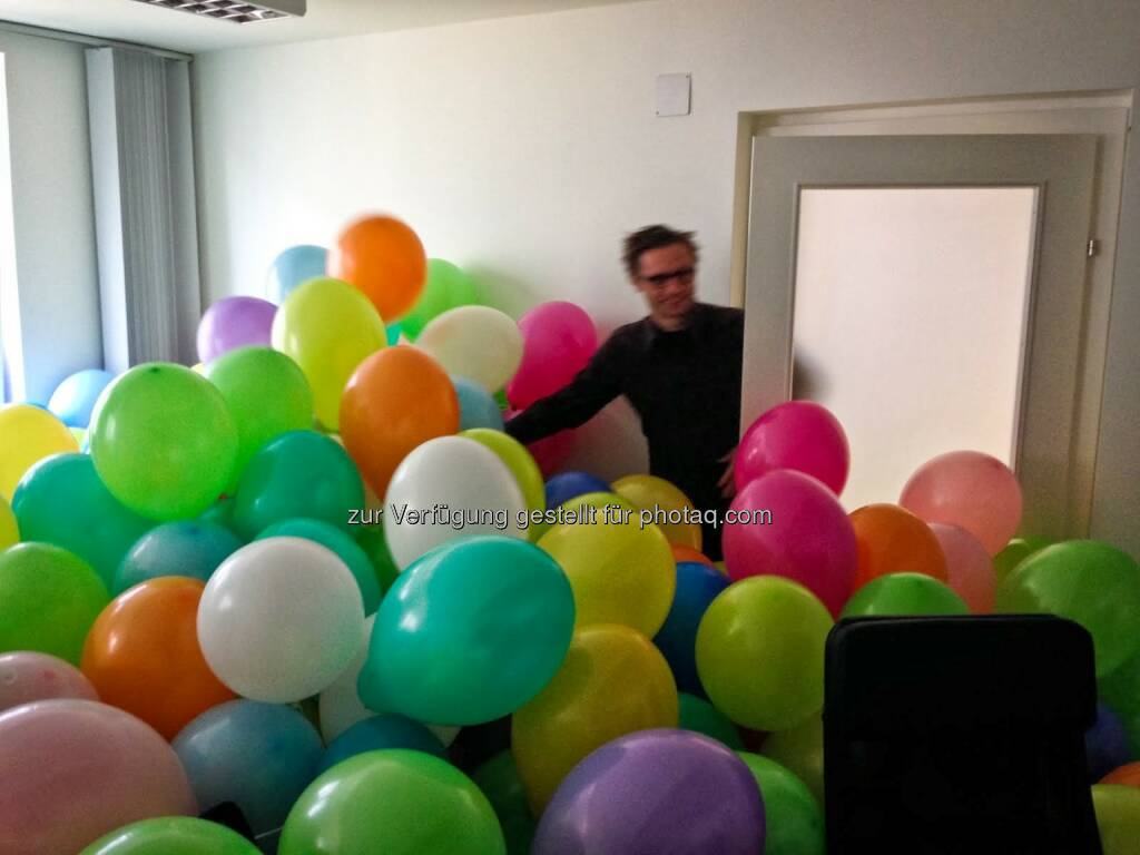 Andreas Kern, Luftballons, © wikifolio.com (03.12.2013)