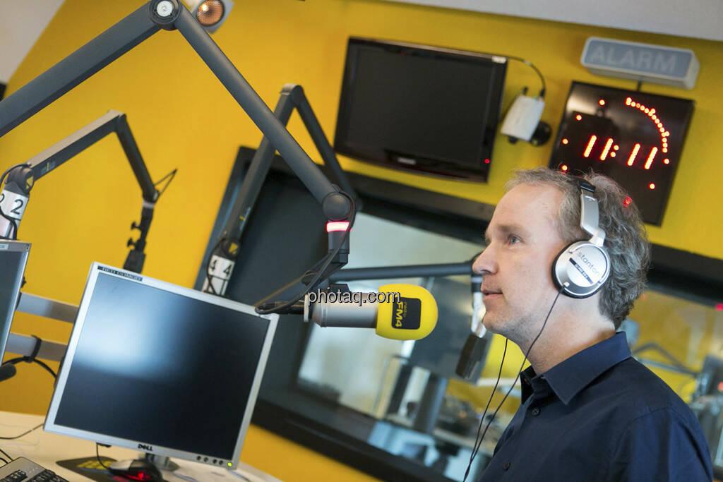 FM4 Connected: Christian Drastil, © Martina Draper (15.12.2012)