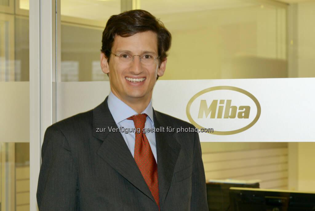 F. Peter Mitterbauer, Vorstandsvorsitzender der Miba AG:, © Miba (04.12.2013)