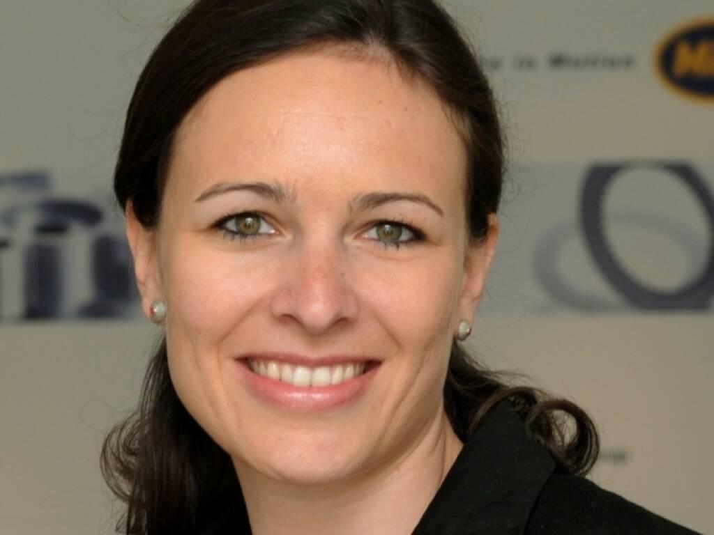 Valerie Weixlbaumer-Pekari, External Communications Manager / Investor Relations Miba, © Miba (04.12.2013)