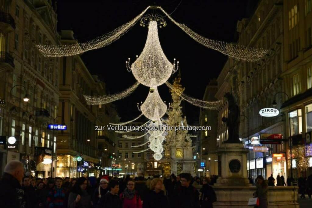 Graben, Wien, Lichter im Advent, www.fotomoldan.at, © Bernd Moldan (07.12.2013)