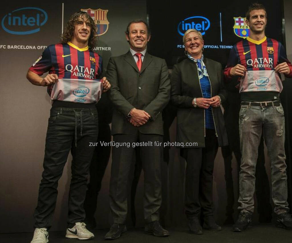 Intel Inside: Lässiges Barcelona-Sponsoring durch Intel (c) Intel (12.12.2013)