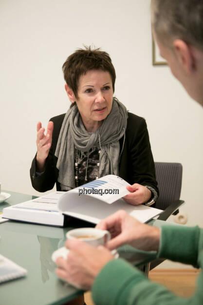 Margarita Hoch (Sanochemia Pharmazeutika AG), Christian Drastil, © finanzmarktfoto.at/Martina Draper (12.12.2013)