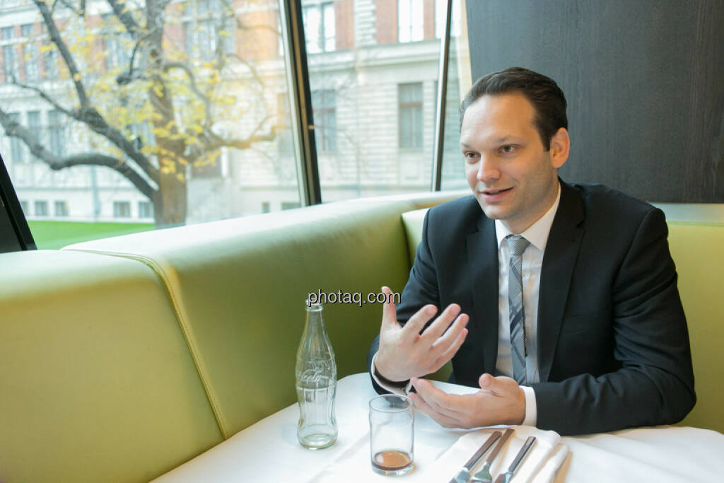 Julian Schillinger (Privé), © finanzmarktfoto.at/Martina Draper (12.12.2013)