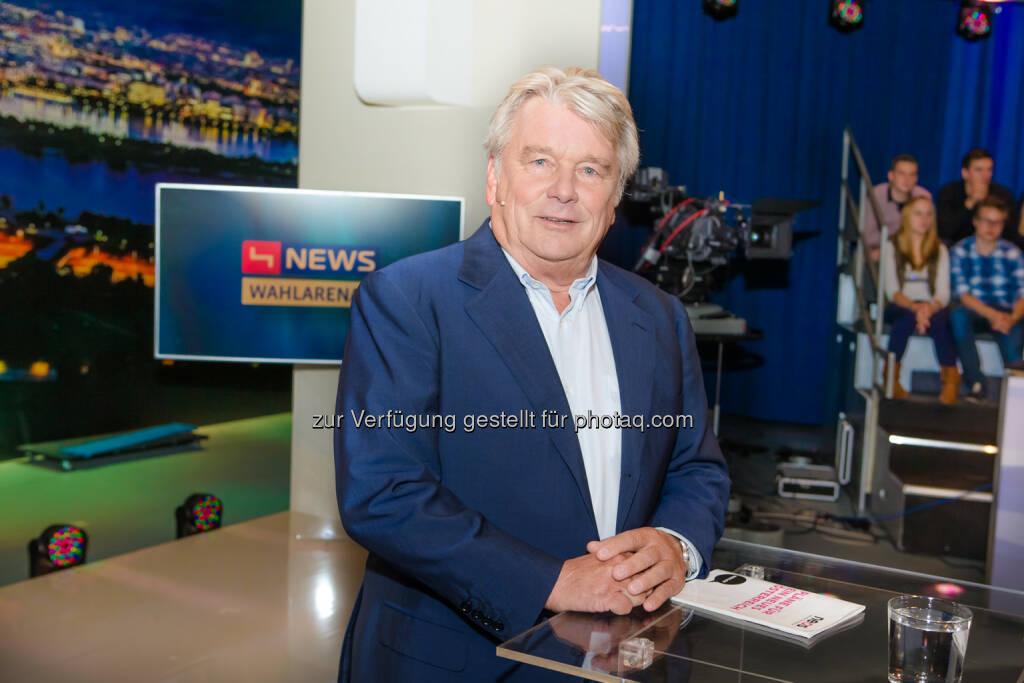 Hans Peter Haselsteiner - Mäzen, Investor und Strabag-Gründer (Bild: Christian Mikes) (13.12.2013)