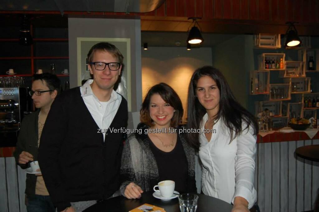ambuzzador Social Fitness Breakfast: Mit Ana Tanjga, Florian Figl (15.12.2013)