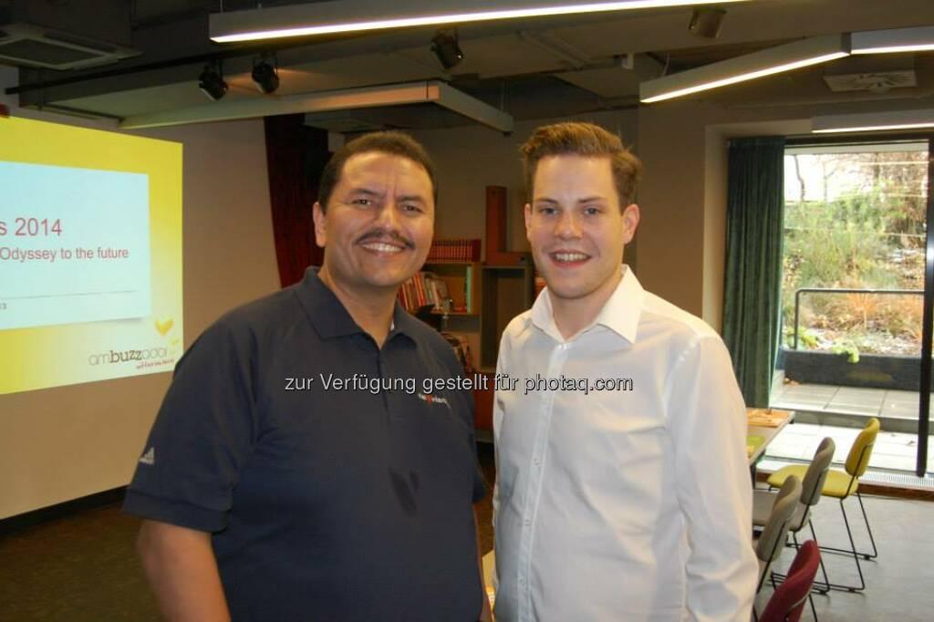 ambuzzador Social Fitness Breakfast: Mit Ramon De Leon, Peter von Hoffmannsthal (15.12.2013)