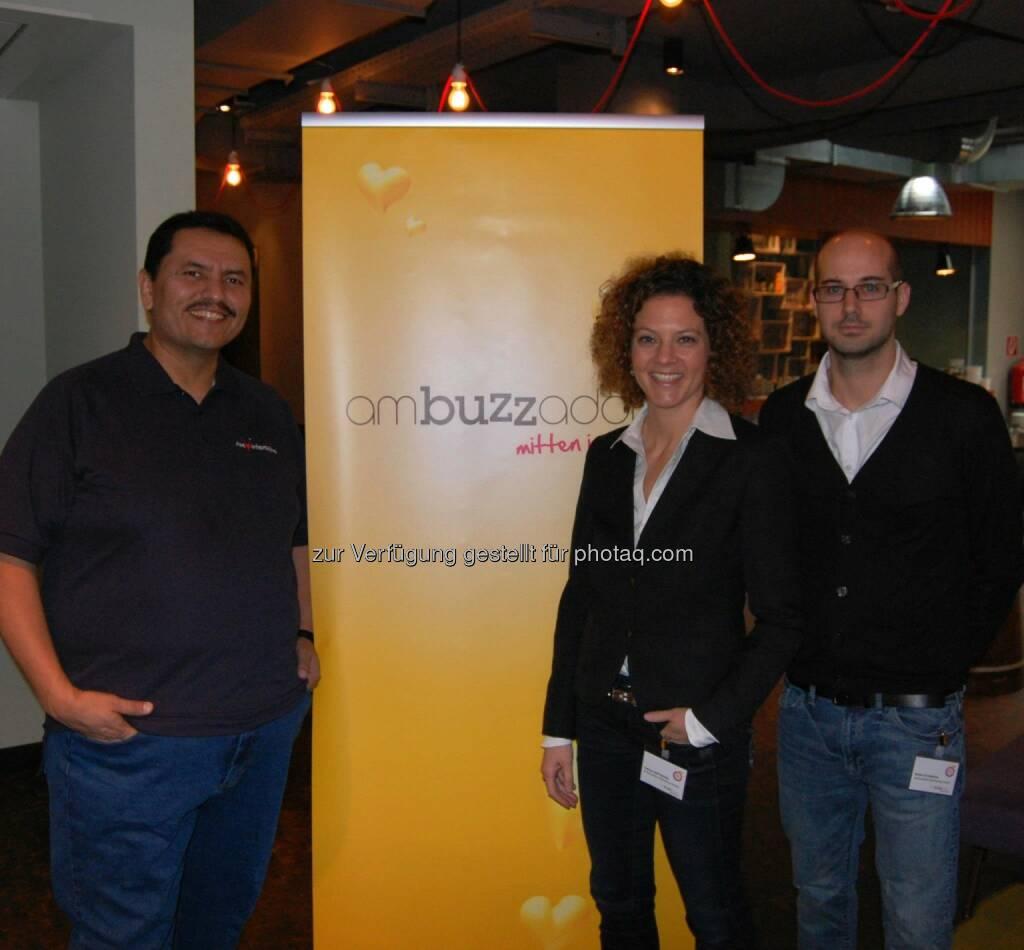 ambuzzador Social Fitness Breakfast: Mit Stefan Schwaha, Sabine Hoffmann, Ramon De Leon (15.12.2013)
