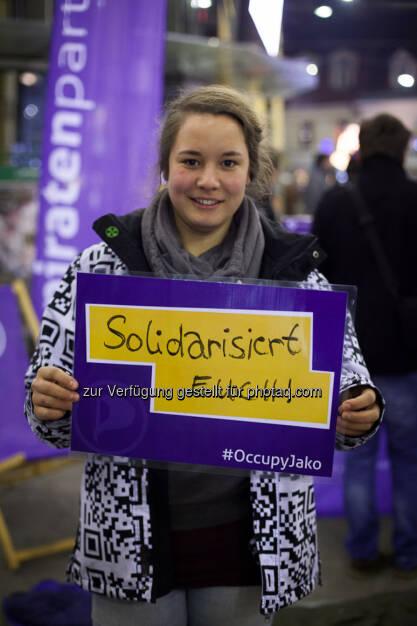 Piratenpartei: Solidarisiert Euch, © Piratenpartei (15.12.2013)