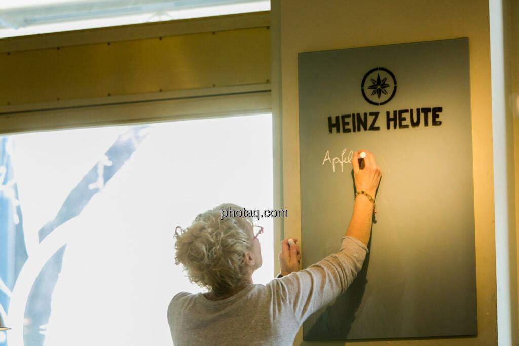 Das Heinz, Speisentafel (16.12.2013)