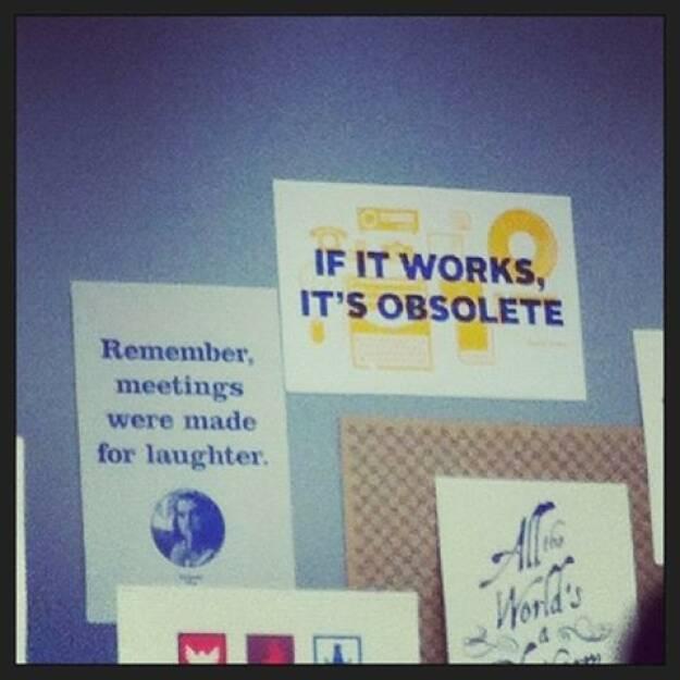 Facebook: If it works, it's obsolete!, © Elisabeth Oberndorfer (17.12.2013)