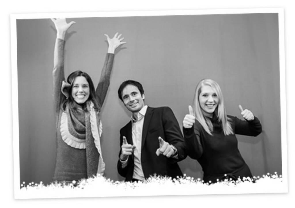 Yes boerse-go: Daniela Meister, Robert Abend, Christin Schulz (18.12.2013)