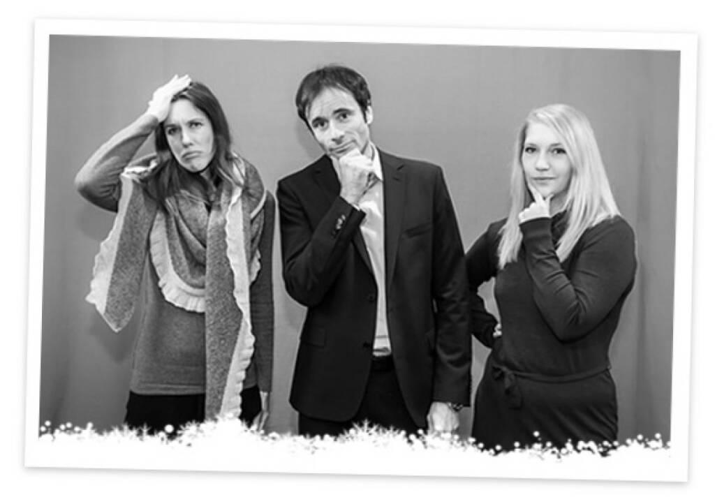 No boerse-go: Daniela Meister, Robert Abend, Christin Schulz (18.12.2013)