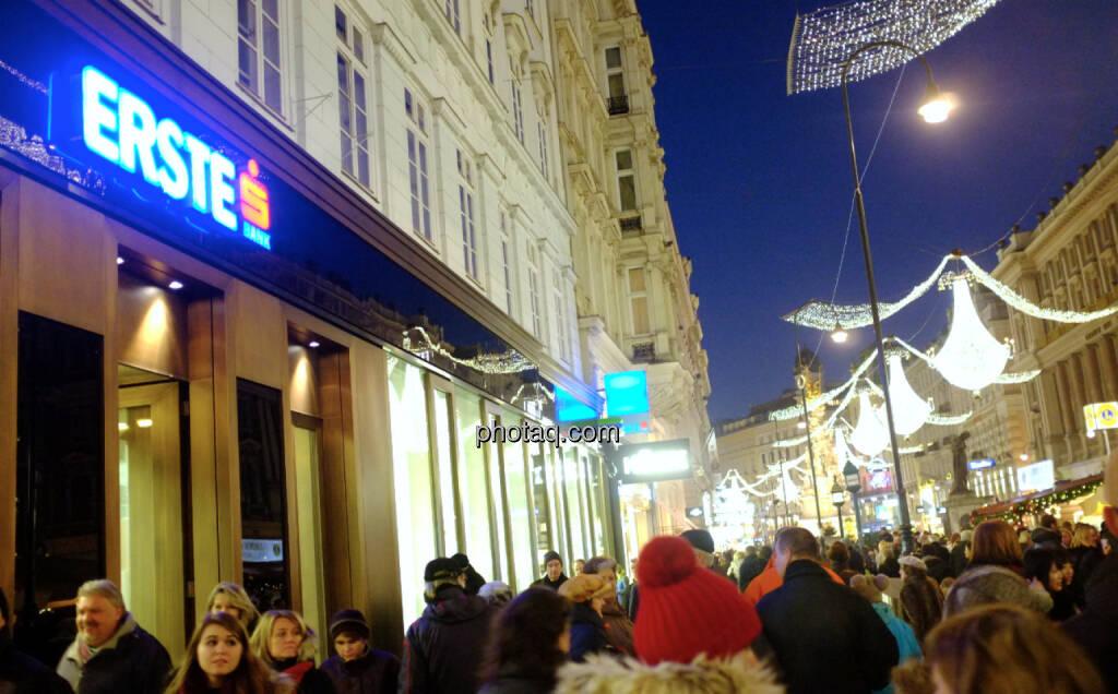 Erste Group, Graben (22.12.2013)