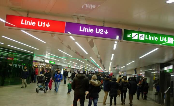 U-Bahn, U1, U2, U4