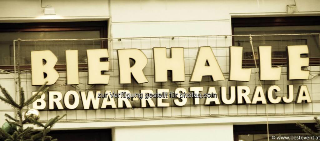 Warschau Bierhalle, © Herbert Gmoser (25.12.2013)