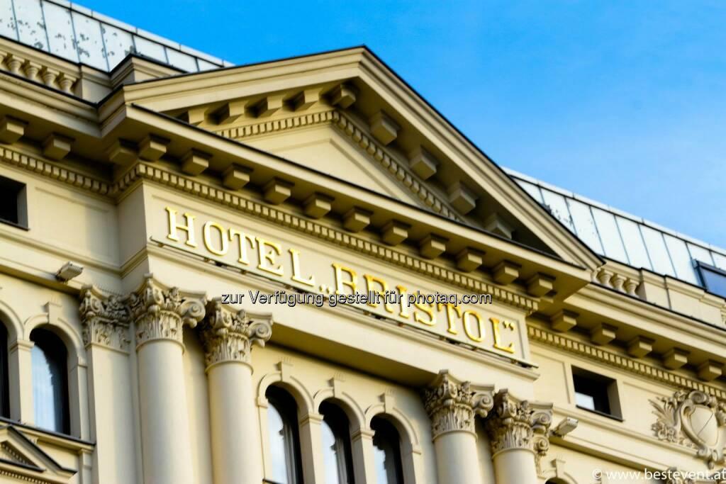 Warschau Hotel Bristol, © Herbert Gmoser (25.12.2013)