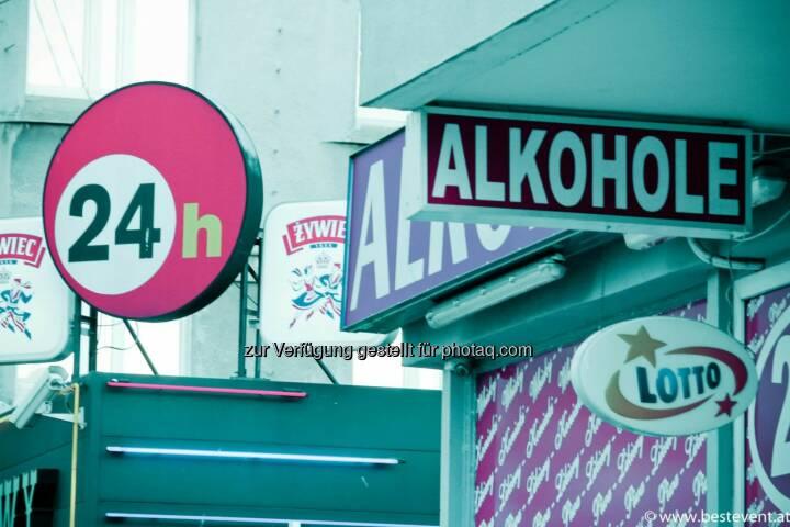 Warschau 24h Alkohhol
